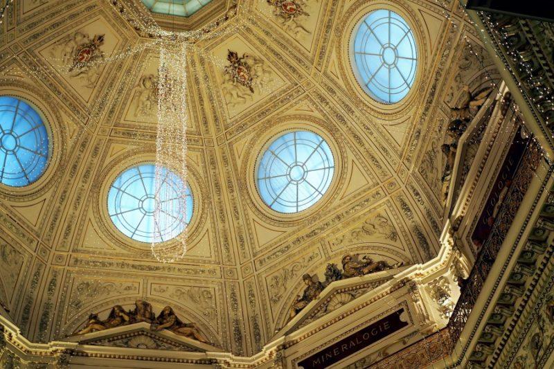 Die Kuppel des NHM in Wien