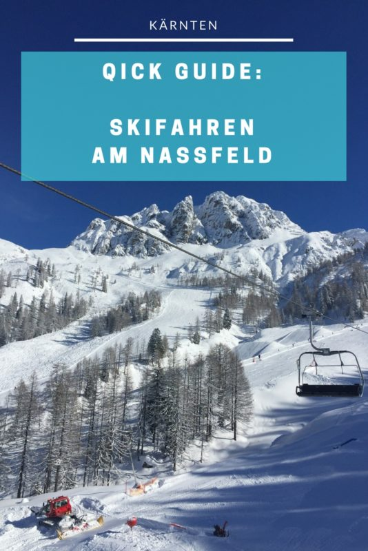 Nassfeld - Tour durch das Skigebiet