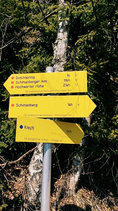 Wanderwege Gailtal