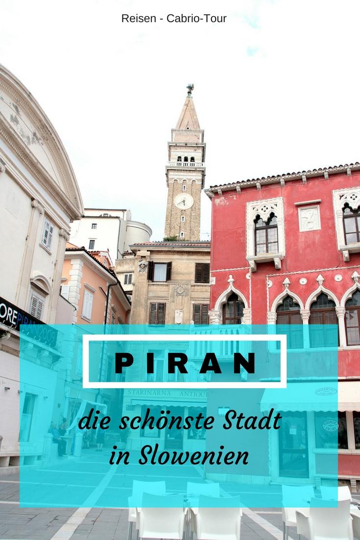Piran Cabrio Tour ins slowenische Istrien