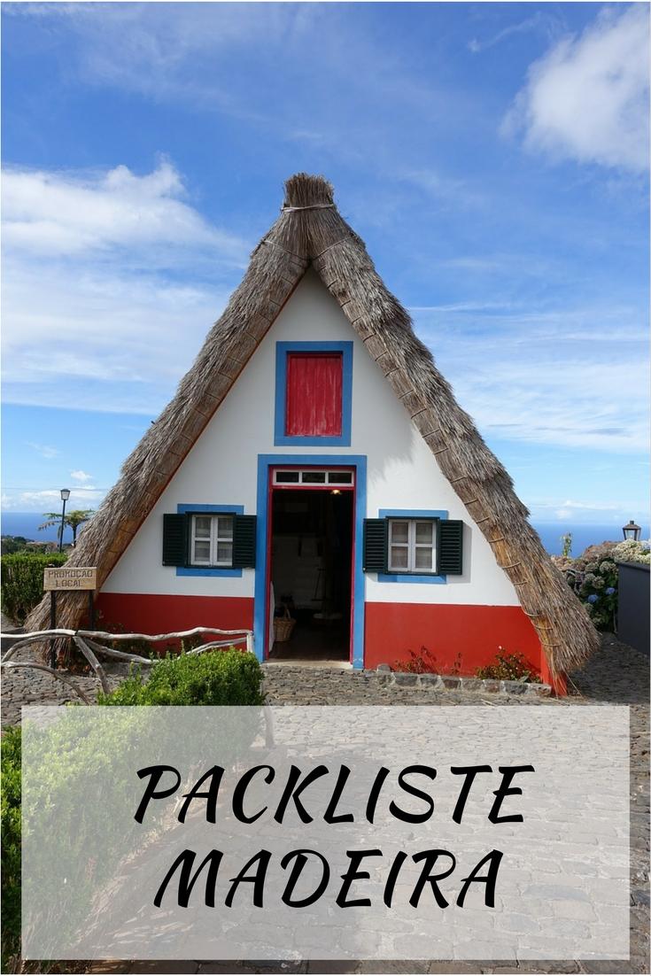 Packen für eine Wanderreise nach Madeira