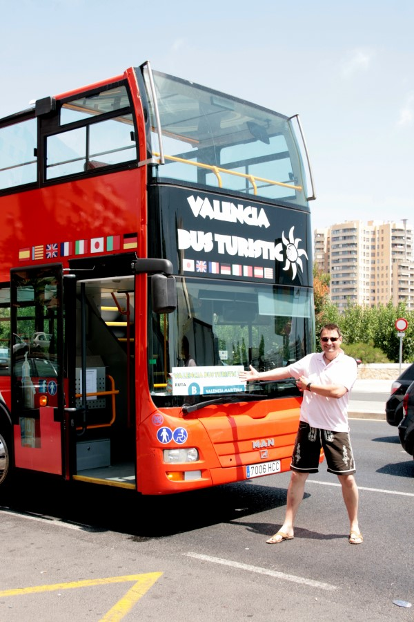 Touristen Bus Valencia