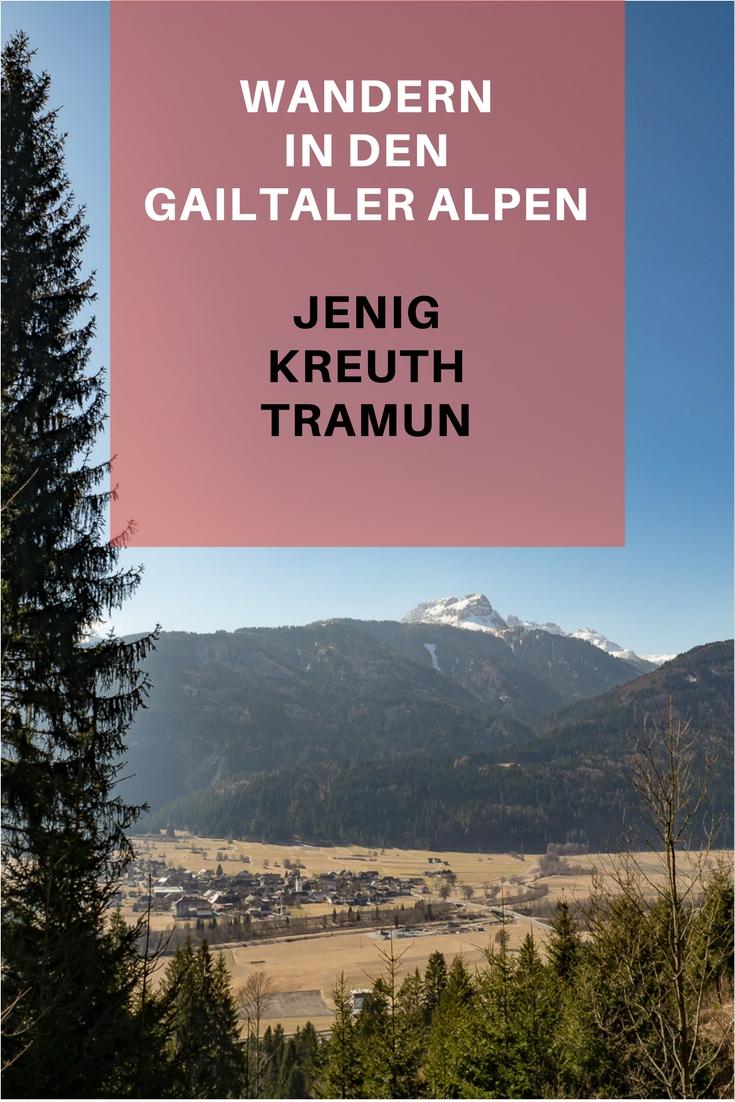 Wandern in den Gailtaler Alpen