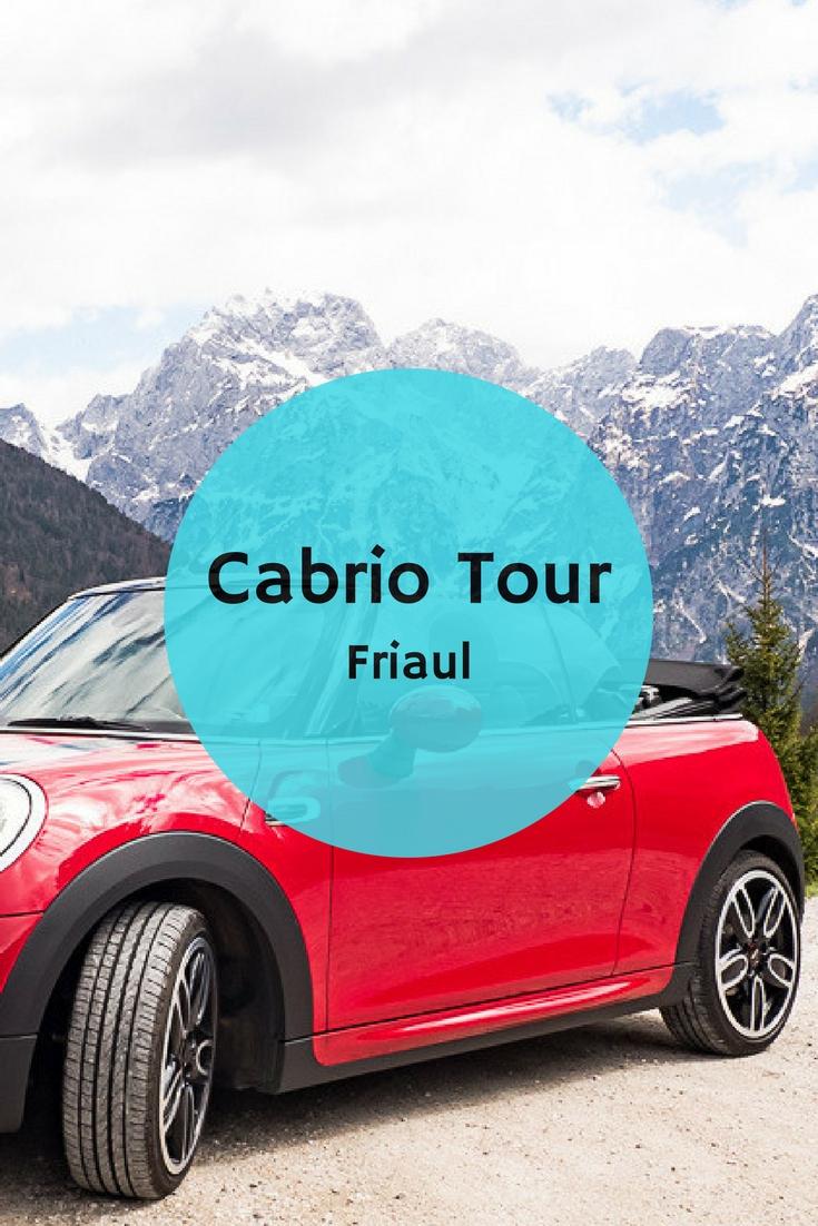 Ausflug Cividale Route Cabrio