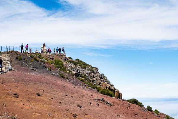 Gipfel Pico Ruivo
