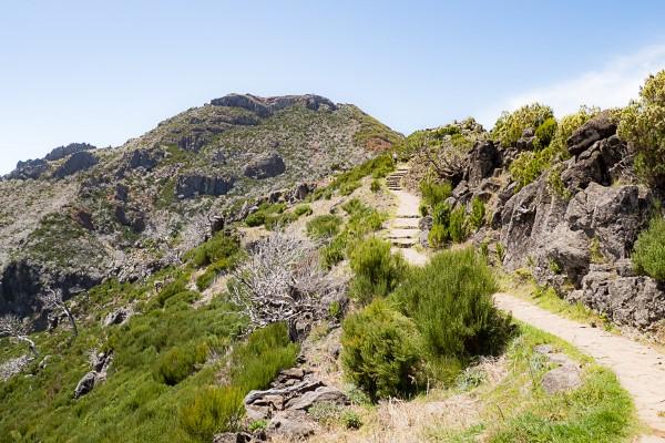 Weg auf den Pico Ruivo