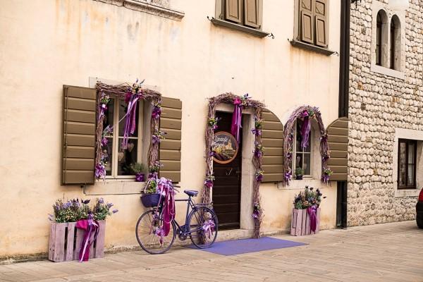 Lavendel-Geschäft in Vezone