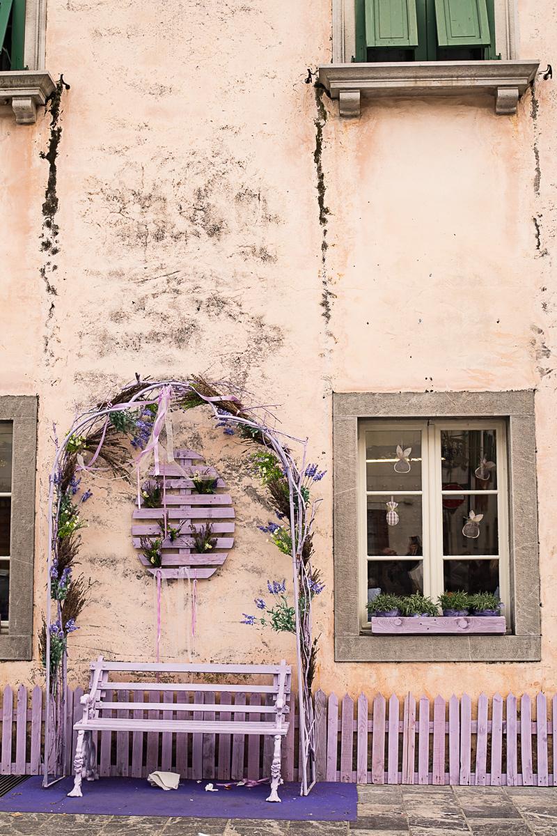 Lavendelgeschäft in Venzone