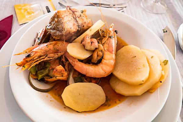 Fischeintopf Madeira