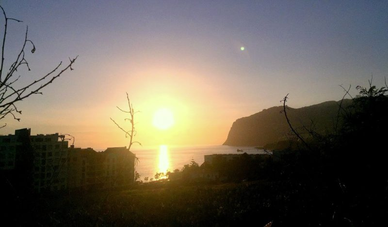 Sonnenuntergang Funchal