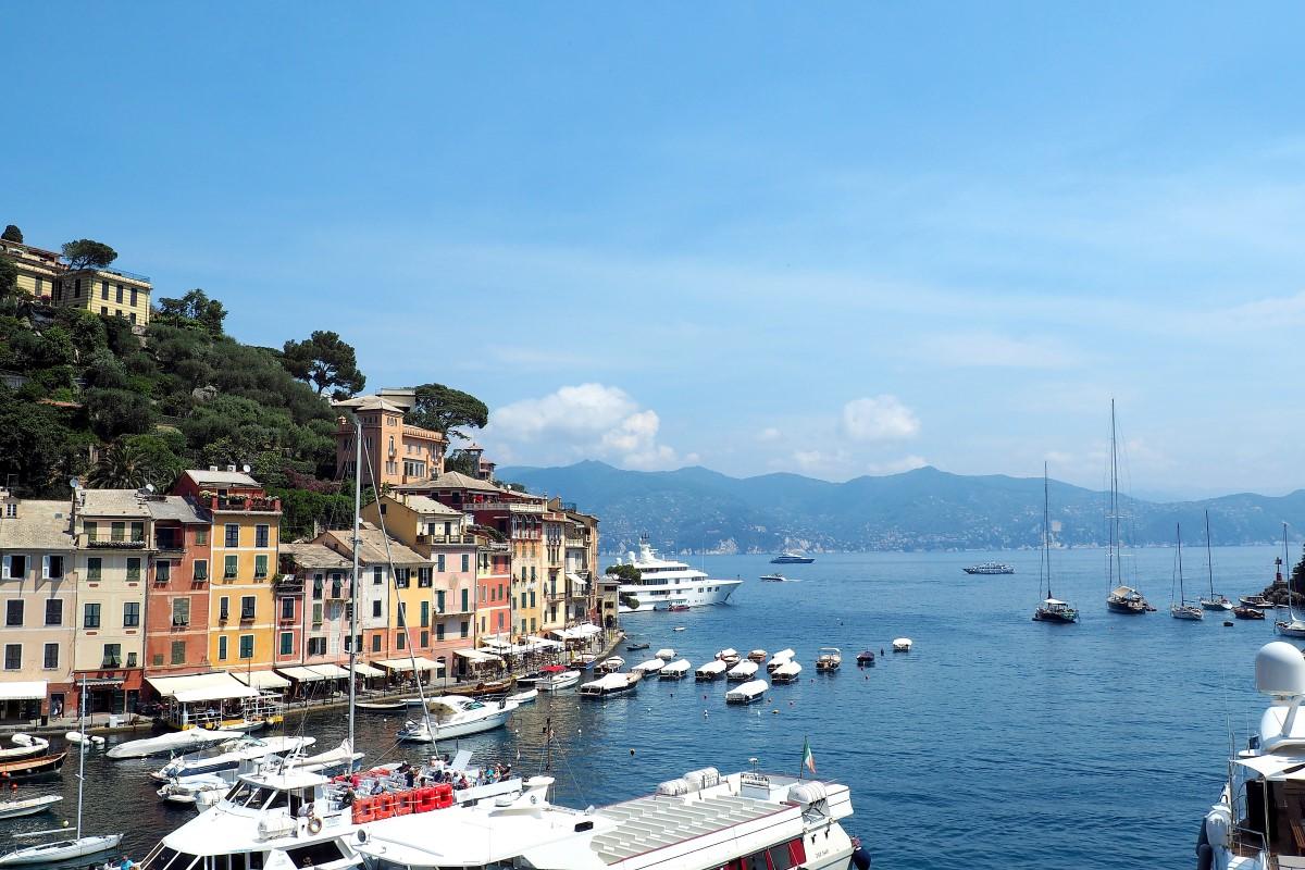 malerische aber teuer: Portofino
