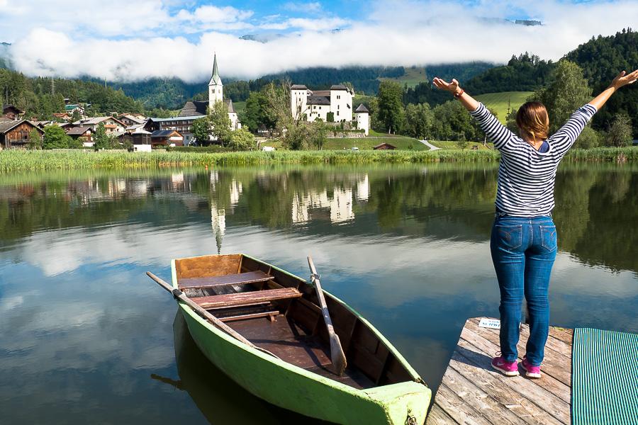 Urlaub am Goldegger See