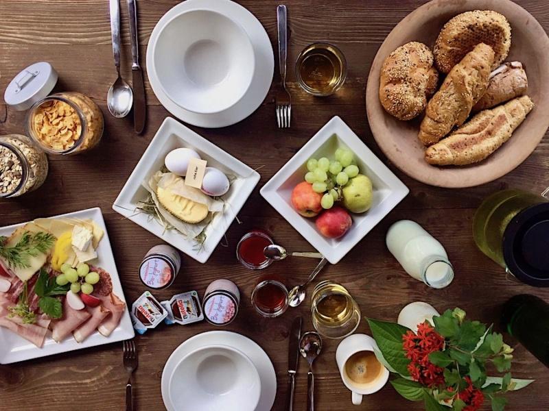 Frühstück Chaletdorf