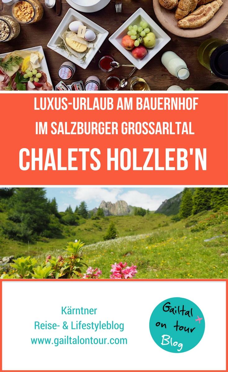 Luxus Urlaub für die ganze Familie im Feriendorf Holzleb'n. Urlaub im Chaletdorf in Salzburg