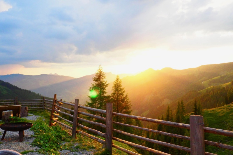 Sonnenuntergang_Alm