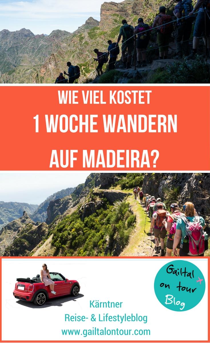 Was kostet eine organisierte Wanderreise nach Madeira? Infos zu einer Woche Wanderreise auf Madeira