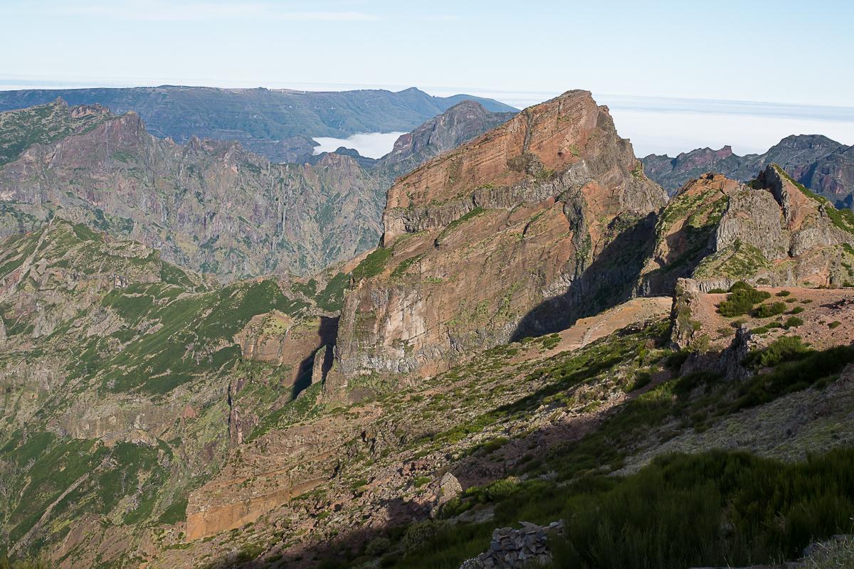 Wandern Madeira Hochgebirge