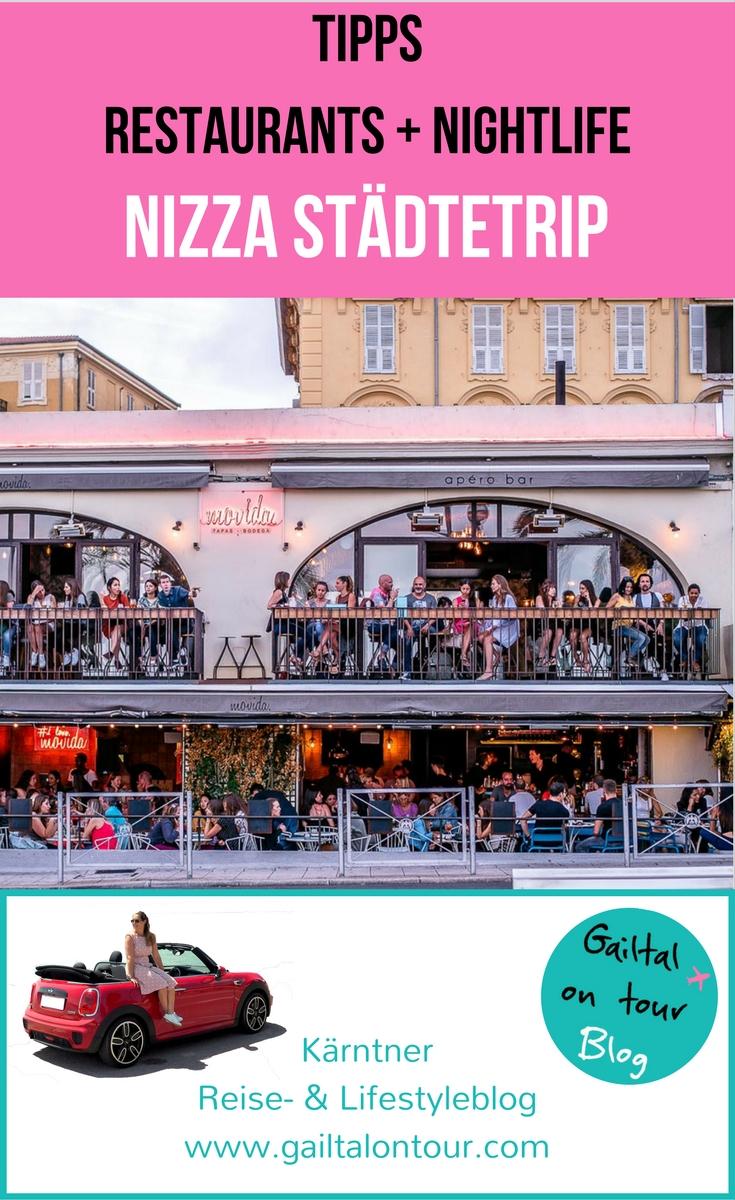 Restaurants & Nightlife in Nizza. Alle Infos, wo es die besten Restaurants, die coolsten Bars, den schönsten Sundowner und die Hotspots von Nizza gibt