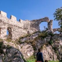 Schloss Duino Ruine