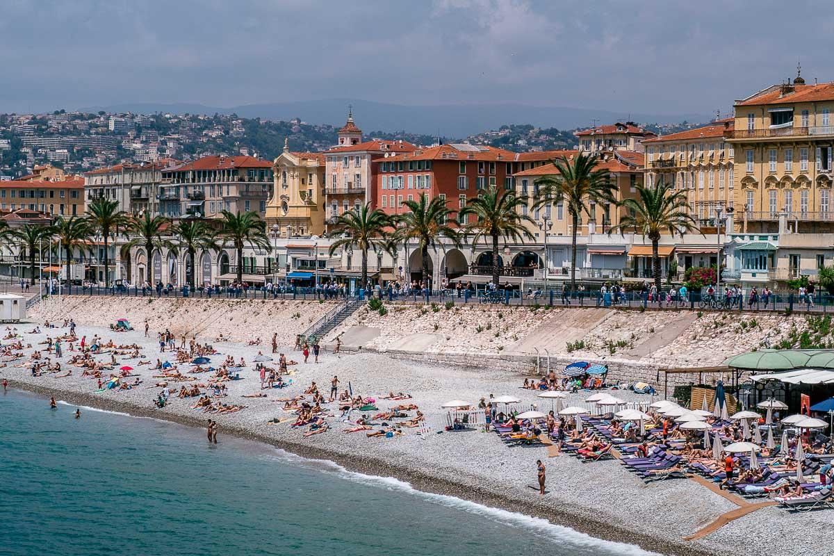 Strand-Promenade-Nizza