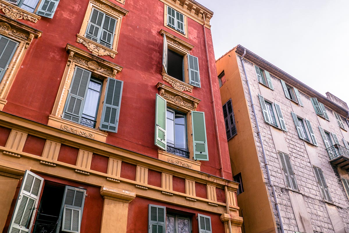 Fassade-Häuser
