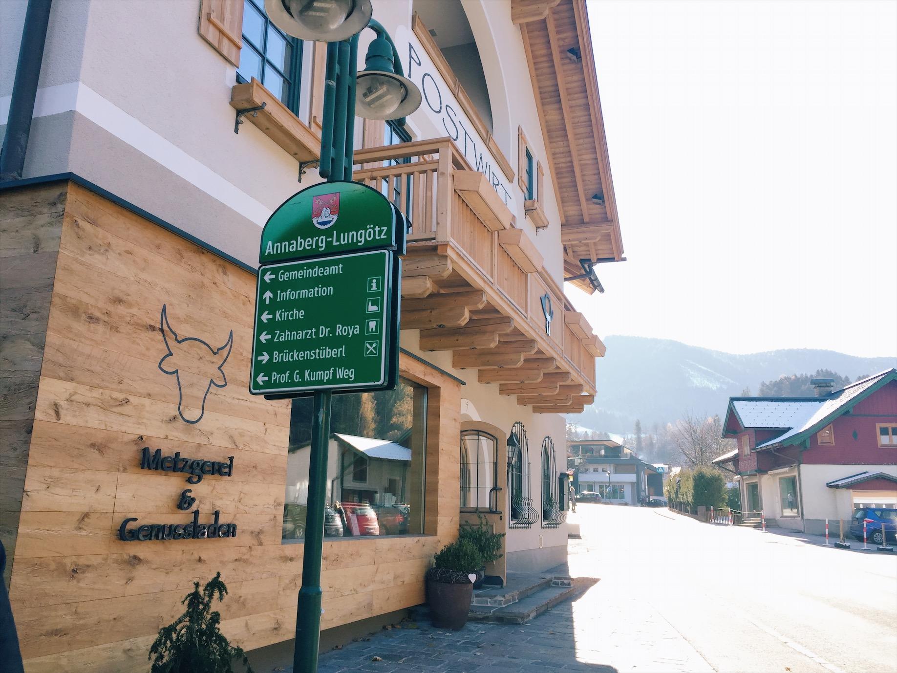 Ortschaft Annaberg im Lammatal