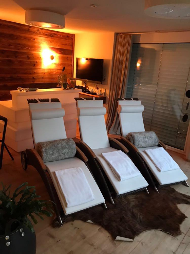 Ruheraum und Sauna in der Ferienwohnung für Erholung und Entspannung