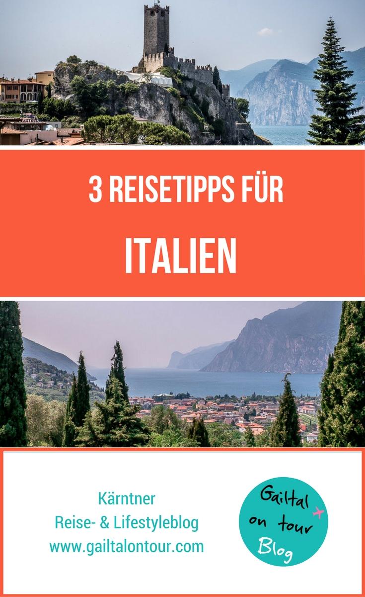 Italien Urlaub 3 Reisetipps