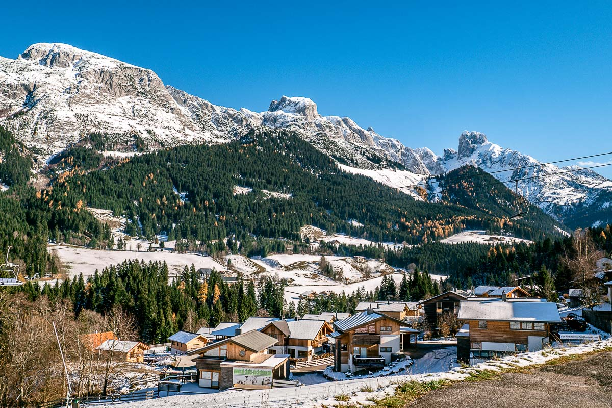 Feriendorf im Skigebiet Annaberg im Lammatal