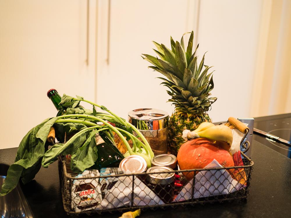 Ferienwohnung mit Essensservice