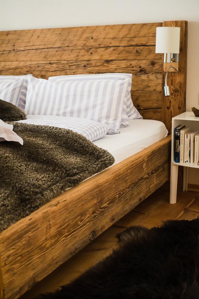 gemütliche Betten in der Ferienwohnung