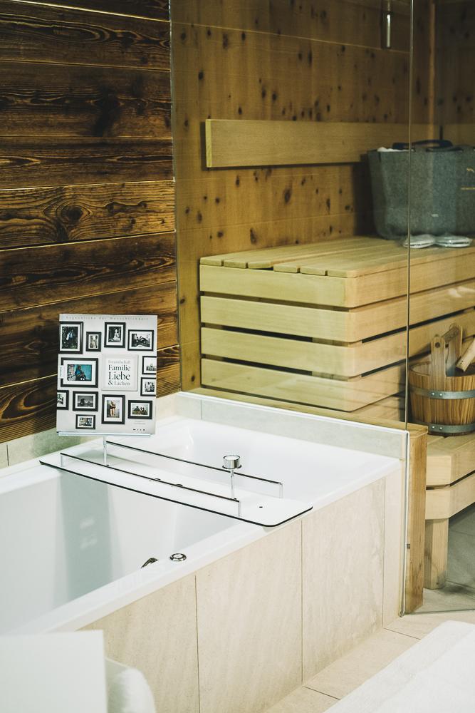 Saunabereich Luxuslodge