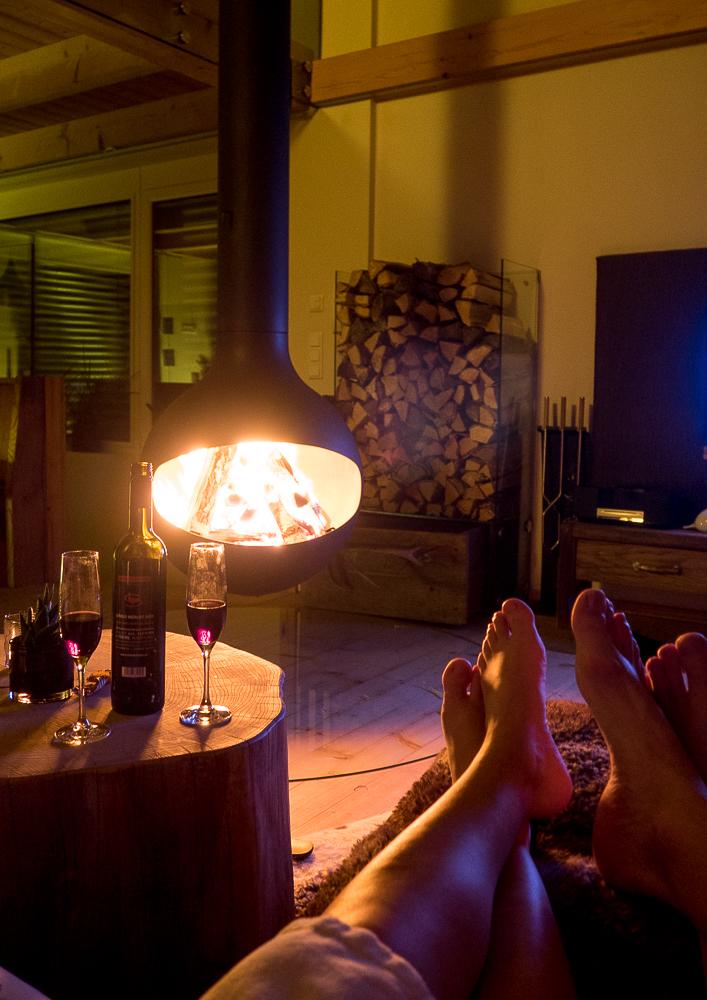 die Luxuslodge ist ideal für ein romantisches Wochenende für Paare