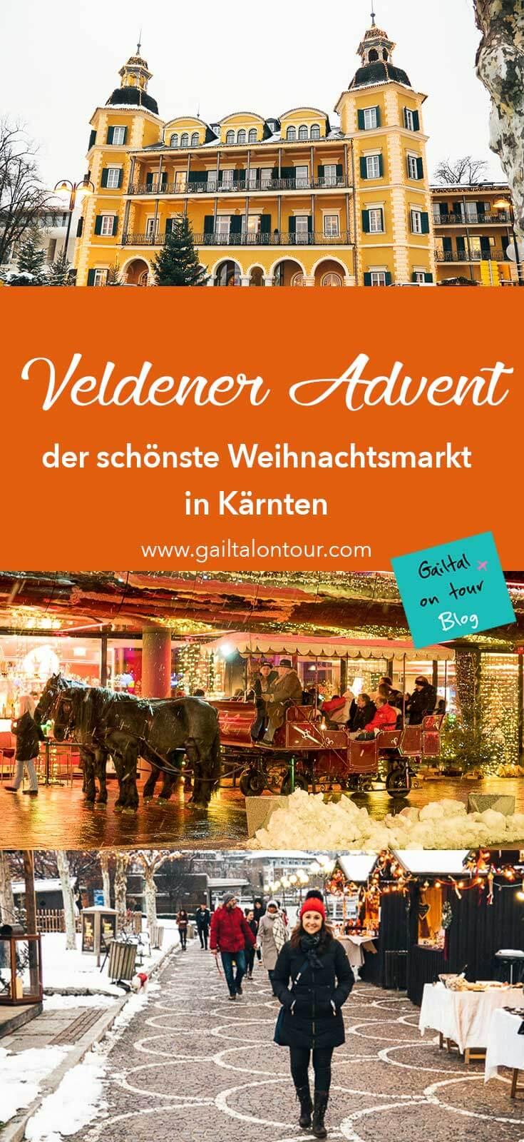 Veldener Advent. Besuch am schönsten #Weihnachtsmarkt in #Kärnten. Stimmungsvoller #Christkindlmarkt mit einem großen kulinarischen Angebot