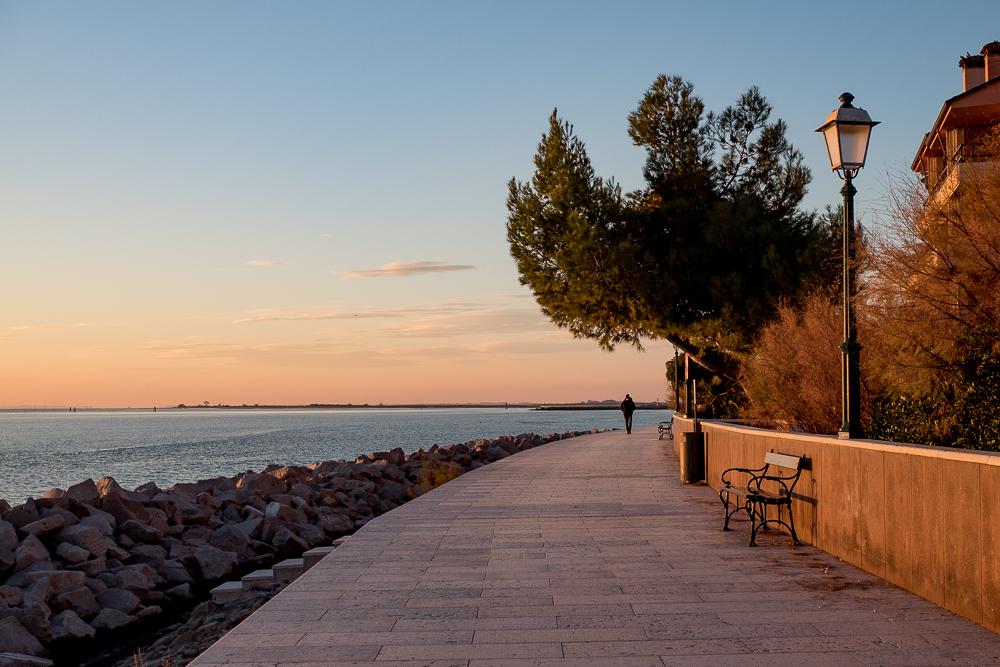 Promenade in Grado