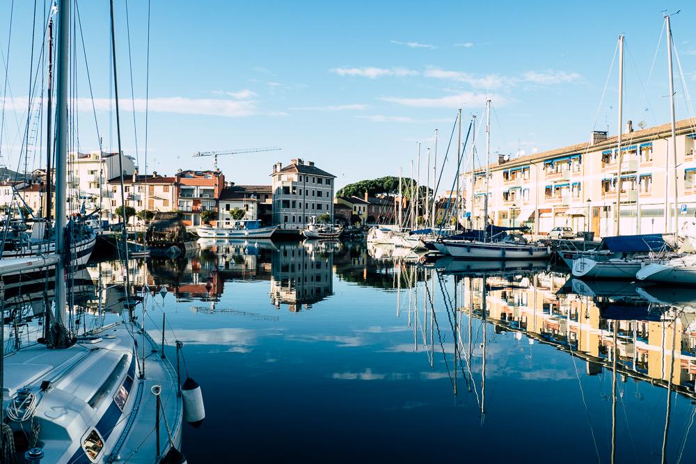 Hafen von Grado