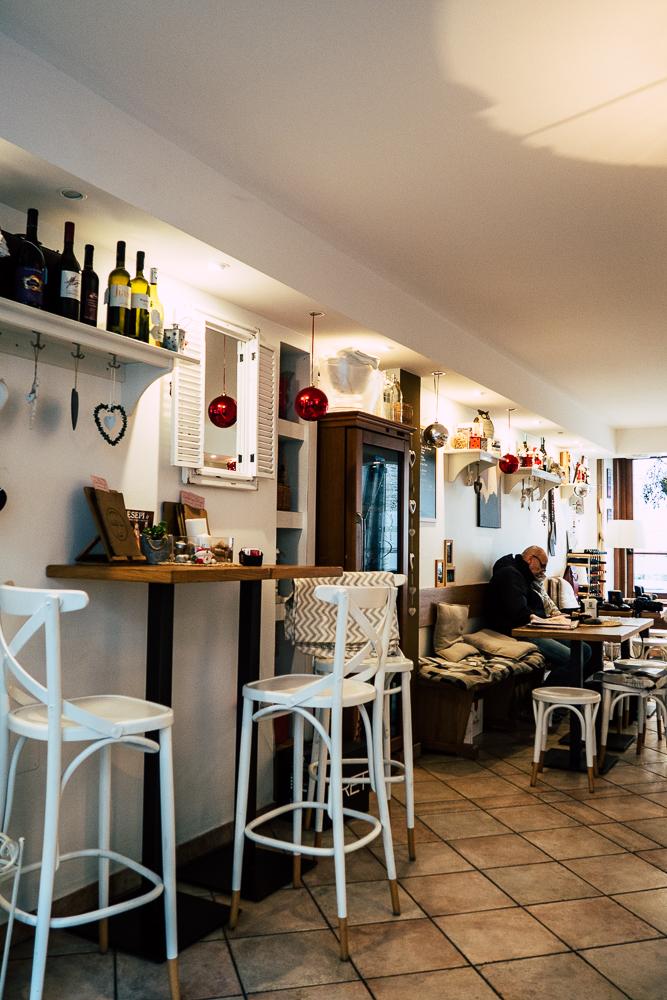 kleines Café in Grado