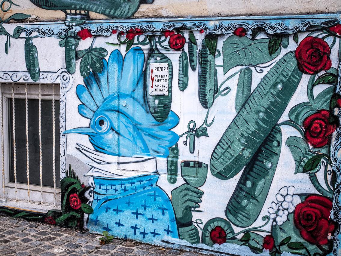Streetart Maribor in Slowenien