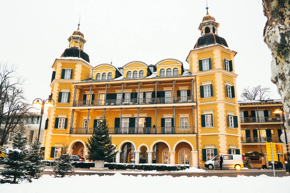 Schlosshotel Velden im Advent