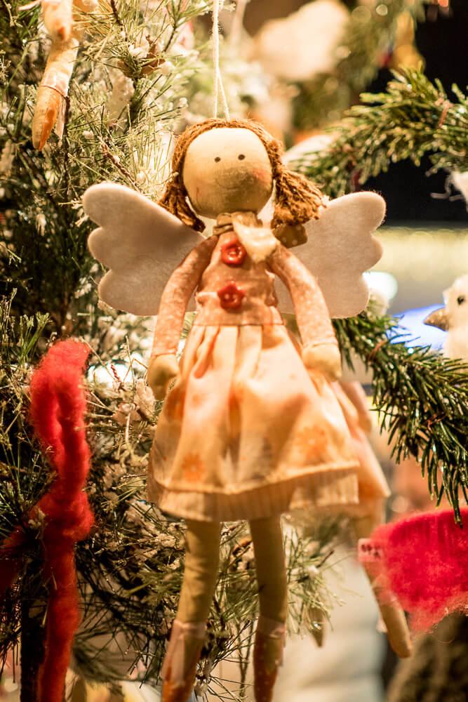 Weihnachtsengerl in Velden