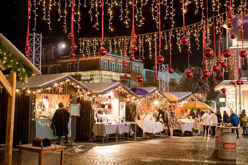 Gemonaplatz in Velden im Advent
