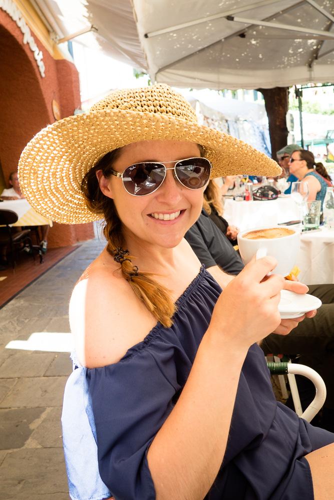 Kaffee in Portofino