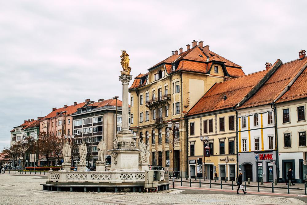 Maribor in der Nähe der Südsteiermark