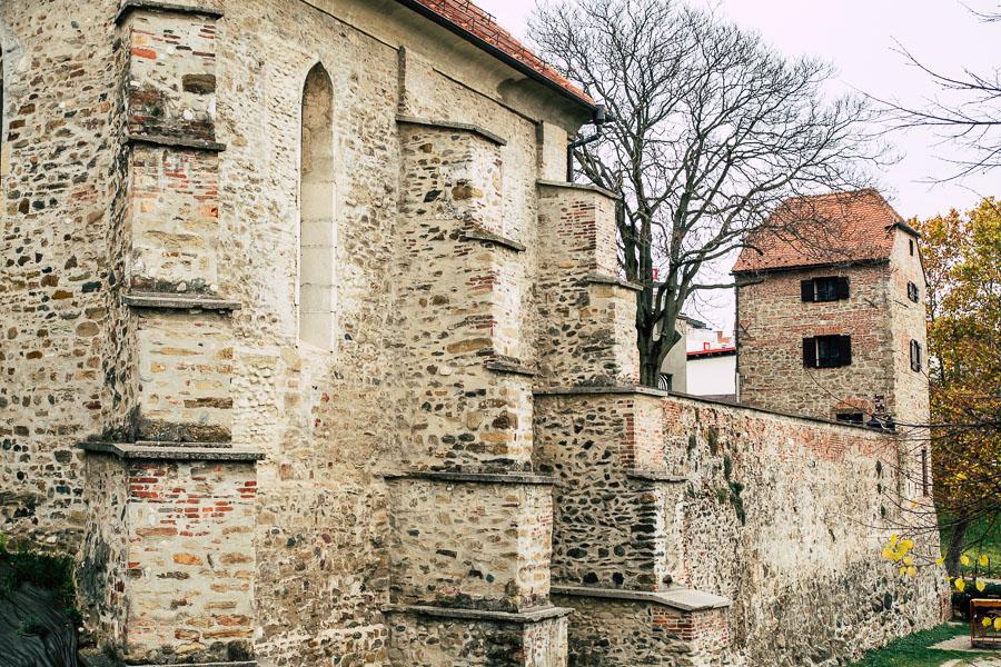 Alte Stadtmauer Maribor