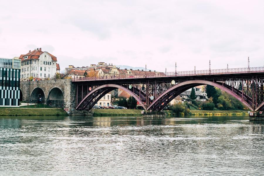 Alte Brücke in Maribor