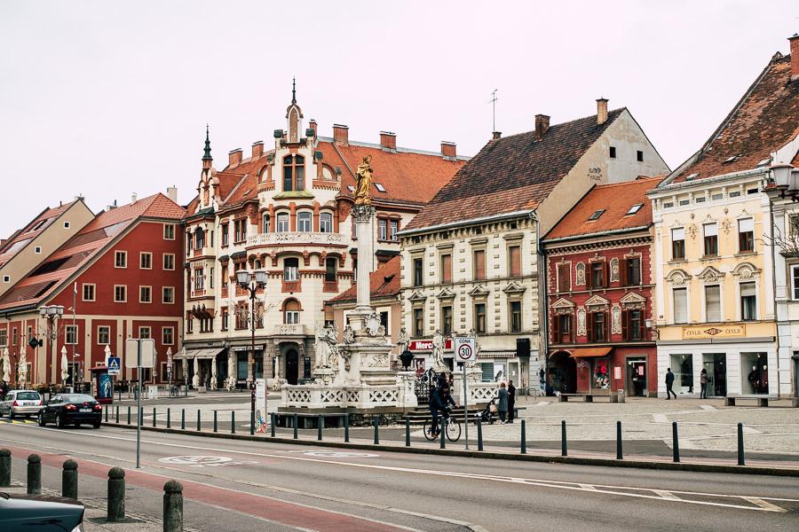 Ausflug Maribor Altstadt