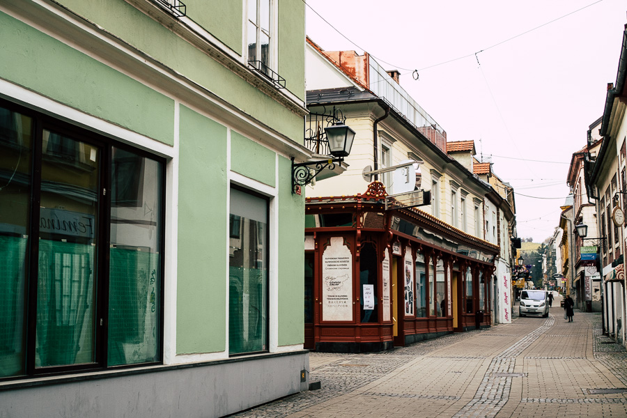 Einkaufsstraßen in Maribor