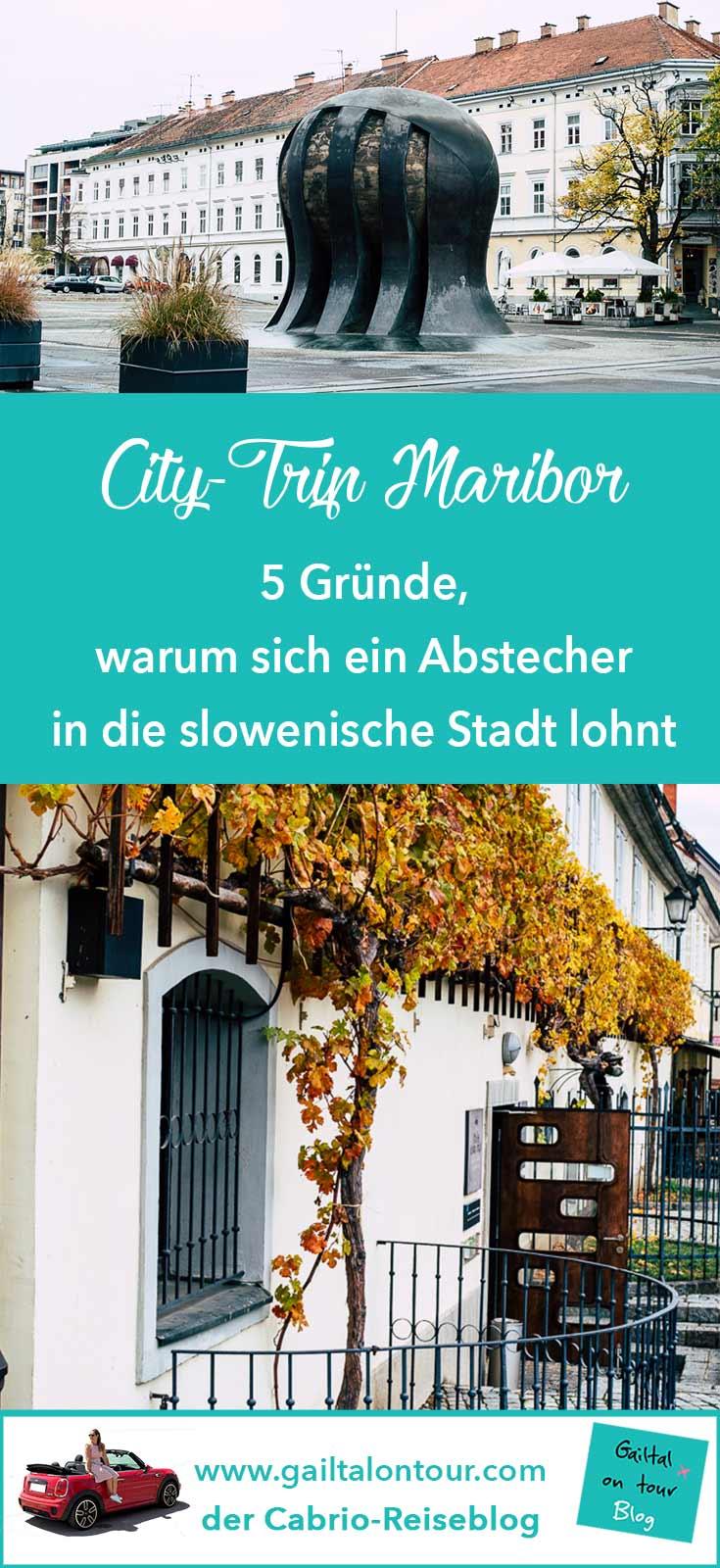 Maribor Slowenien. Warum es sich lohnt, die zweitgrößte Stadt in Slowenien zu besuchen