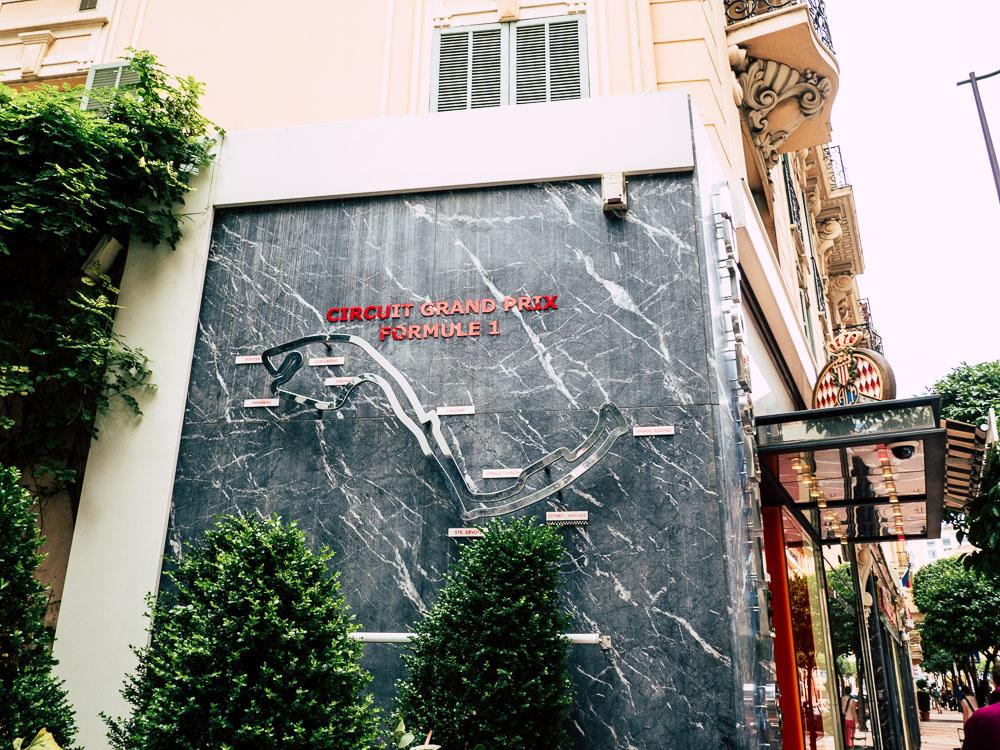 Monaco F1 Strecke