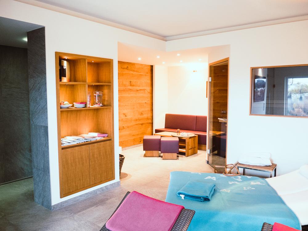 Hotel Vincent Saunabereich